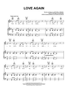 """Love Again"" Sheet Music by Pentatonix from OnlineSheetMusic.com"