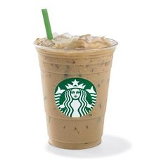 Iced Latte ❤ liked on Polyvore featuring food, drinks, food and drink, fillers and starbucks