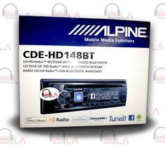 Sourcing-LA: ALPINE CDE-HD148BT CD MP3 USB AUX BLUETOOTH EQUALI...