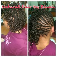 Natural Hair by Rinah, natural, natural hair, Mohawk, Havana twists, Marley twists, twists, braids, locs, protective styles