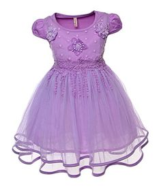 Fashion plaza dresses for girls blue
