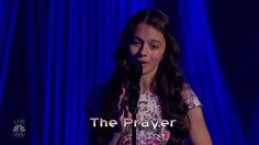 """Laura Bretan belts out a powerful version of 'The Prayer' on America's Got Talent Live Shows Round 1 on Tuesday, July """"This is my golden buzzer and. Laura Bretan, Got Talent Show, Child Prodigy, Gifted Kids, Best Songs, Good Music, Florida, The Incredibles, T Shirts For Women"""