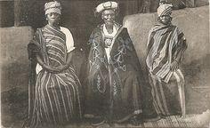 Guinea chief, circa 1900.