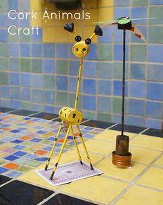 Cork Giraffe