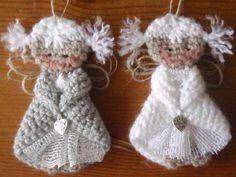 Crochet Christmas Gifts, Christmas Knitting, Crochet Gifts, Handmade Christmas, Christmas Crafts, Crochet Toys Patterns, Amigurumi Patterns, Stuffed Toys Patterns, Crochet Angels