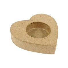 Compra nuestros productos a precios mini Portavelas en froma de corazón 8 cm - Entrega rápida, gratuita a partir de 89 € !