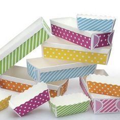 """Pretty Paper Baking Cases & Candy Containers """"ShopSweetLulu.com"""" @Jessie Senese"""