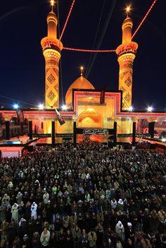 Shrine of Abu'fathel Abbas (a.s) in Karbala, Iraq