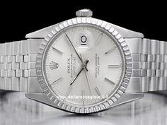 Rolex - Datejust 16030 Cassa: acciaio - 36 mm Vetro: vetroplastica Colore quadrante: argento Bracciale: jubilee Chiusura: deployant