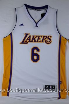 maillot nba pas cher Los Angeles Lakers Clarkson  6 Blanc nouveaux tissu  22 b09d43464