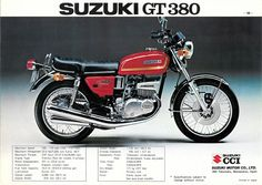 Risultati immagini per suzuki ngt 380 Motorcycle Posters, Retro Motorcycle, Suzuki Motorcycle, Motorcycle Style, Classic Motors, Classic Bikes, Vintage Motorcycles, Custom Motorcycles, Suzuki Bikes
