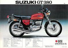 1974 Suzuki GT380