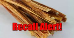 Check Your Treats! Another Recall Due To Salmonella!   The Animal Rescue Site Blog