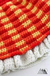 Part 4 of the Simply Fall Baby Dress Crochet A long. Join us and crochet a fall baby dress together. One Skein Crochet, Crochet Bowl, Quick Crochet, Crochet Dishcloths, Free Crochet, Crochet Crafts, Crochet Lace, Crochet Projects, Modern Crochet Patterns