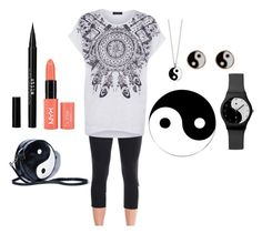 """""""Ying yang"""" by farryasher ❤ liked on Polyvore"""