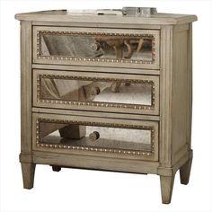 3 Drawer Nightstand in Pearl Essence   Nebraska Furniture Mart