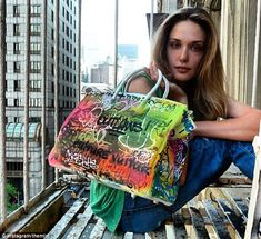 blue ostrich purse - Is this the ultimate tag of luxury? Two artists transform an ...