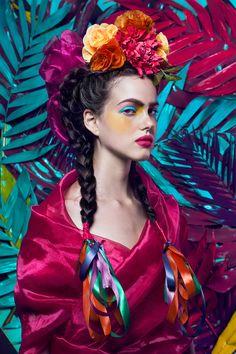 La Mexicana for Flesh Magazine on Behance