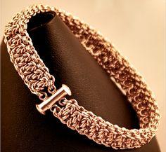 Leonies Gift by KazBarEzz #chainmaille #bracelet