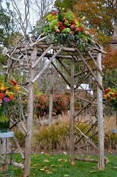 autumn wedding at The Arbors ~ pricesmithevents.com