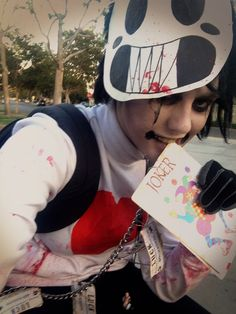 My cosplay of Zacharie from OFF by Mortis Ghost