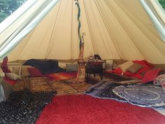 Belle Tent for Hire by Marquee Marvel - For Garden and Party Hire. An example of it being used for an Arabian Themed Garden Party Marquee Hire, Party Hire, Glamping, Outdoor Gear, Tent, Campers, Interior, Compact, Bohemian