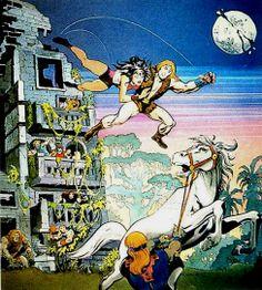 Jack Kirby's Thundarr and Ariel