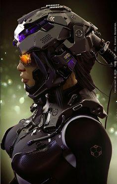 Pilot Suit 2 by VANG CKI KRSLD. see more #space #sci fi pics at www.freecomputerdesktopwallpaper.com/wspacenine.shtml
