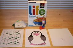 A DIY apraxia game - The Hungry Penguin