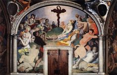 Bronzino, Miracle of the Brazen Serpent c. 1542