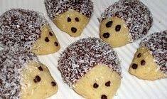 Ježečci z máslového těsta - My site Biscuit, Clem, Croissants, Marshmallows, Doughnut, Christmas Cookies, Sweet Recipes, Cookie Recipes, Sweet Treats