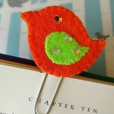 Check out this item in my Etsy shop https://www.etsy.com/listing/470725314/felt-bookmark-paper-clip-planner-clip