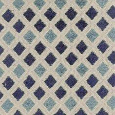 Blue Diamond Fabric from DuraleeFinds