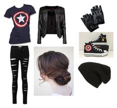 """""""Margo2"""" by nerd-alert250 on Polyvore featuring Marvel, Converse, Boohoo and Phase 3"""