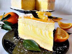 Tort cu crema de portocale Cheesecake, Fancy, Orange, Desserts, Recipes, Food, Club, Pie, Tailgate Desserts