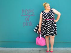 Living Outside the Fashion Box!: {style} Pops of Pink