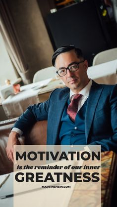 Motivation is the reminder of our inner greatness. You are great so just motivate yourself every day, to remind yourself how great you are. Co Founder, Motivate Yourself, Hana, Mindset, Leadership, Coaching, Entrepreneur, Motivation