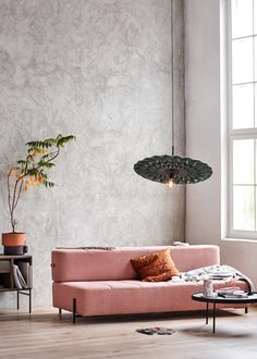 Pleated fabrics, self-watering plant pots and a new take on the sofa bed all feature in the inaugural homeware collection from new Norwegian brand Northern.