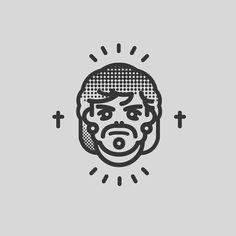 Design of characters. #icon #line #design #symbol #face #art #cartoon #illustration  www.rafasanemeterio.com