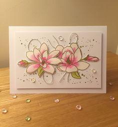 Wendy's Craft: Magnolias for her, Altenew.