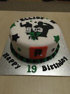 gta 5 birthday cake