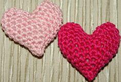 Camslykke: Hekle oppskrift - Hjerte