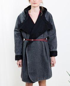 Waxed Herringbone Coat // Kate Sheridan
