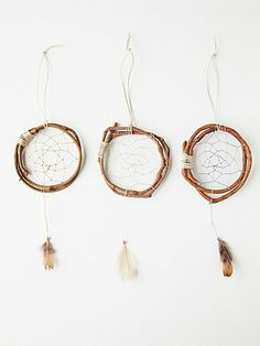 mini wood dreamcatcher Seems pretty easy