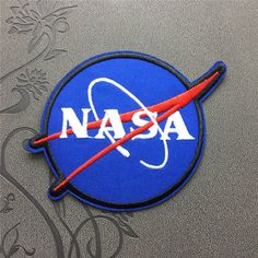 NASA Patch Space Center Uniform Clothing Polo Jacket Shirt Embroidered Iron on Patch Sew on patches