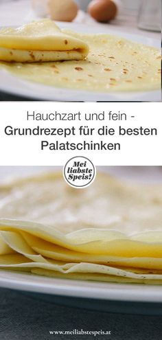 The perfect pancakes: So far so easy-Die perfekten Palatschinken: So weit so einfach Step by step instructions for the best pancakes in the world. It's that easy … by step - Pancake Healthy, Best Pancake Recipe, Health Snacks, Health Desserts, Health Breakfast, Breakfast Recipes, Best Crepes, Baby Food Recipes, Dessert Recipes