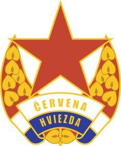 Red Star Bratislava Red Star Belgrade, Old Logo, European Football, Bratislava, Crests, Badge, Soccer, Logos, Futbol