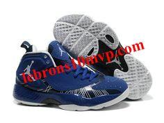 Air Jordan 2012 Basketball Shoes Blue/White