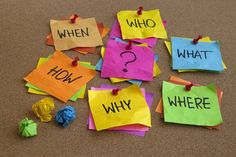 """The """"Why, Who, When, Where, What and How"""" of Getting Organised! 