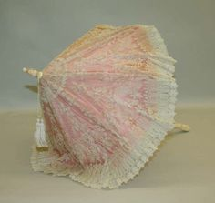 Late 19th century parasol, the Met by gail
